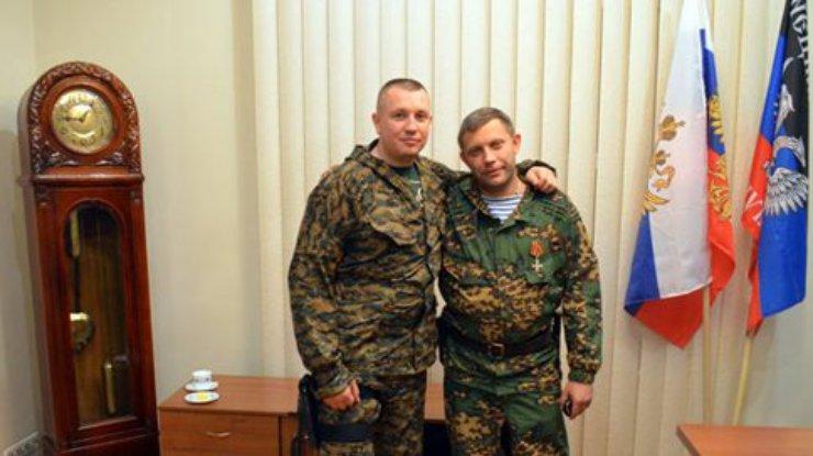 Евгений Жилин и Александр Захарченко