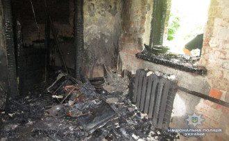 В одном из сел Киевщины мужчина задушил, изнасиловал и поджег пенсионерку