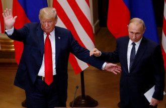 В Белом доме сообщили, что Дональд Трамп и Владимир Путин говорили более часа