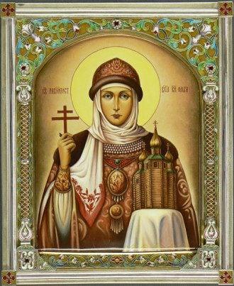 Свята Ольга. Ікона.