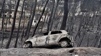 Люди сгорали заживо в домах и автомашинах