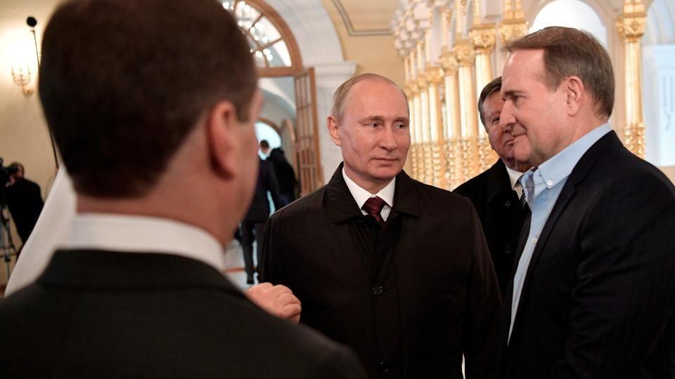 Медведчук - Путин