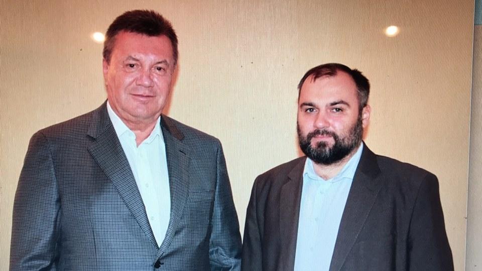 Виктор Янукович и Виктор Овсянников