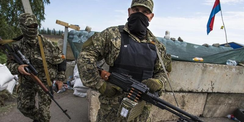 Боевики на Донбассе. Иллюстративное фото
