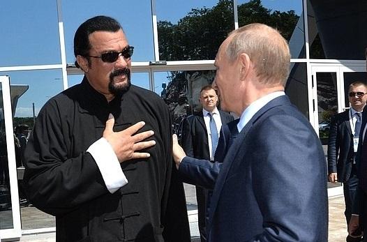Стивен Сигал, Владимир Путин