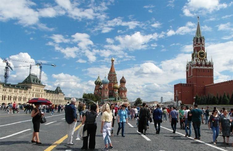 Кремль, красная площадь
