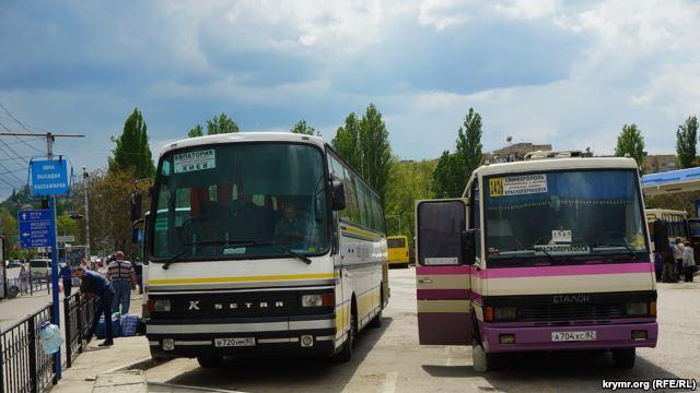 Автобус в Крым