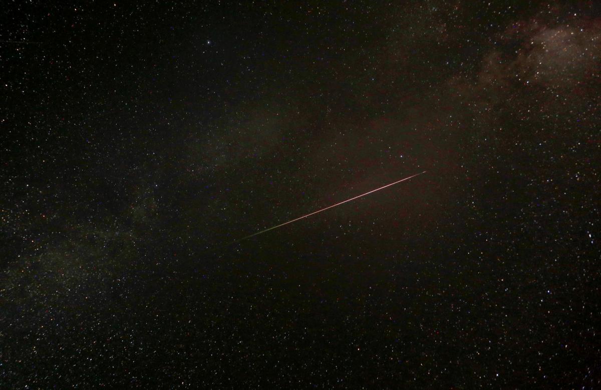 Звездопад поражает своей космической красотой  REUTERS