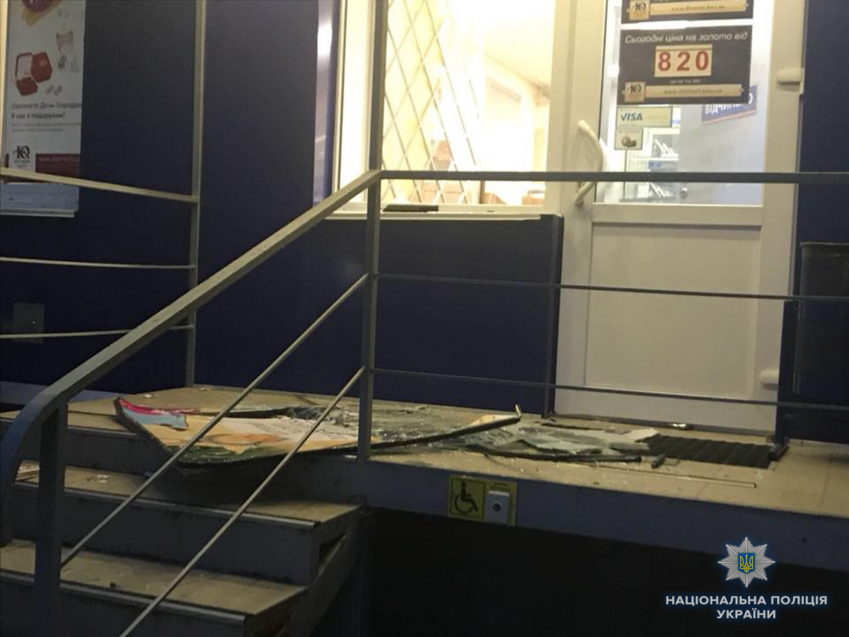СМИ назвали приметы разбойников, напавших на магазин-ломбард в Киеве