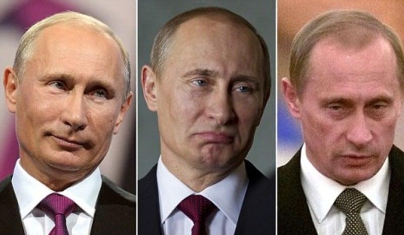 Путин и двойники