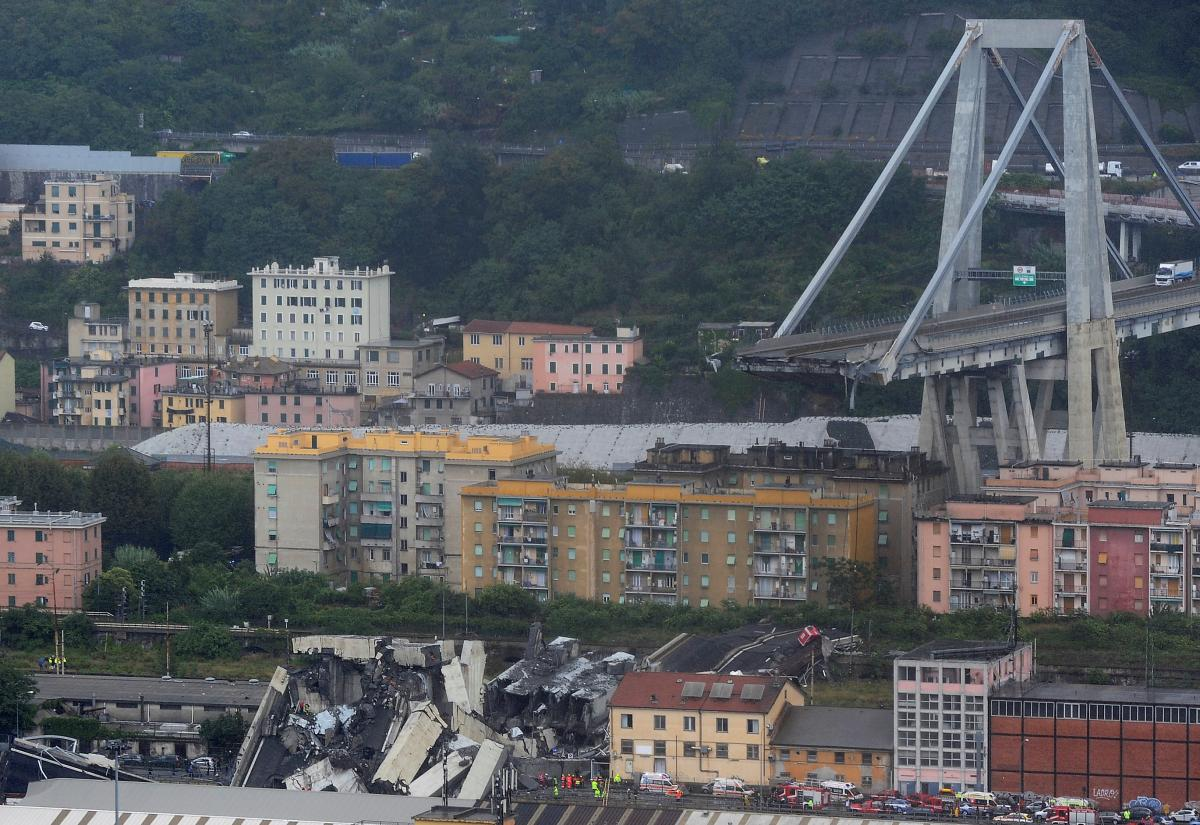 В Генуе подсчитали, сколько еще человек может оставаться под завалами моста