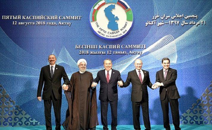 Каспийское море, конвенция