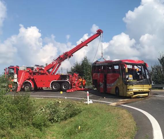 Польша,автобус,ДТП