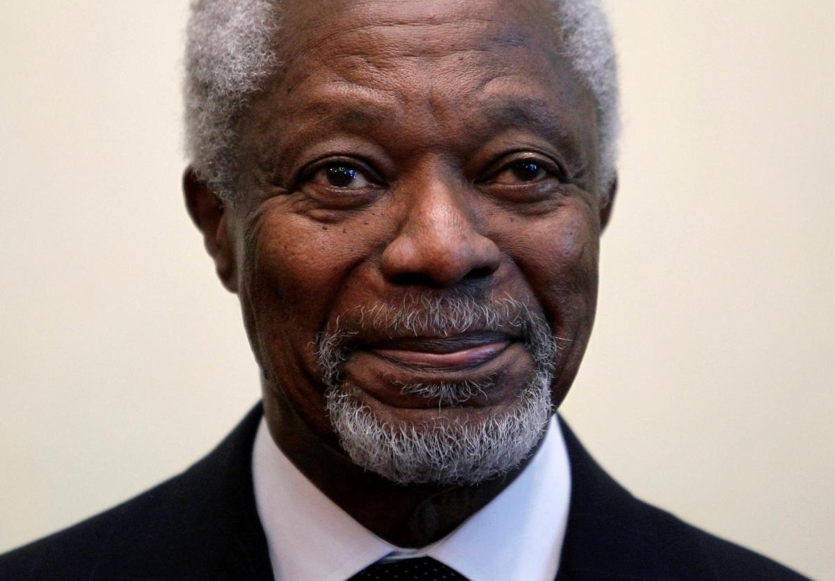 Кофи Аннан умер
