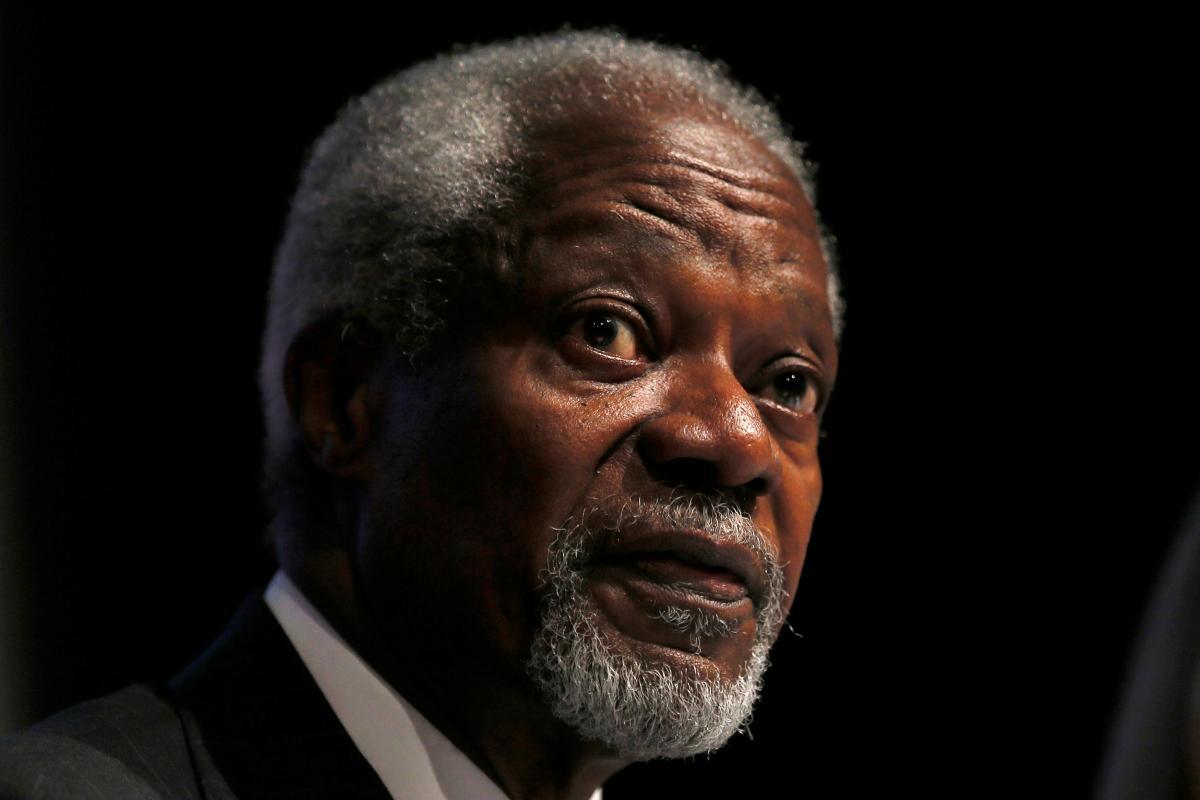 Журналисты выяснили, что Кофи Аннан умер в больнице