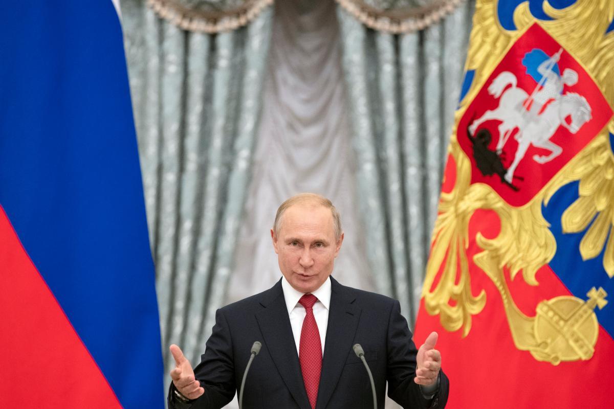 Ведущий полагает, что Владимир Путин — самый подлый и страшный враг человечества