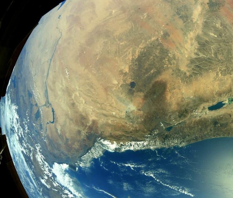 Черное море— Перекресток культур. Американский астронавт продемонстрировал фото Черного моря изкосмоса