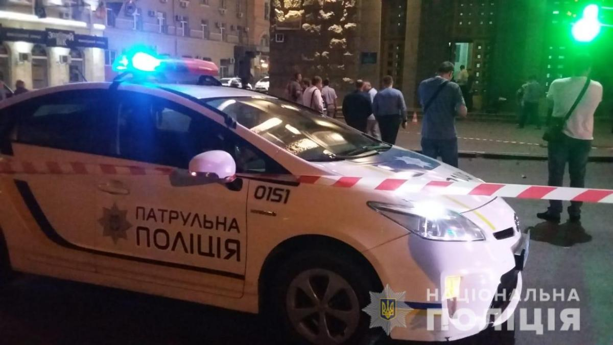 В Харькове у горсовета произошла стрельба, погиб коп