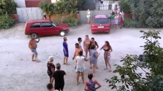 дебош в Кирилловке