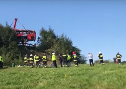 Водитель украинского автобуса, который попал в смертельное ДТП в Польше, арестован