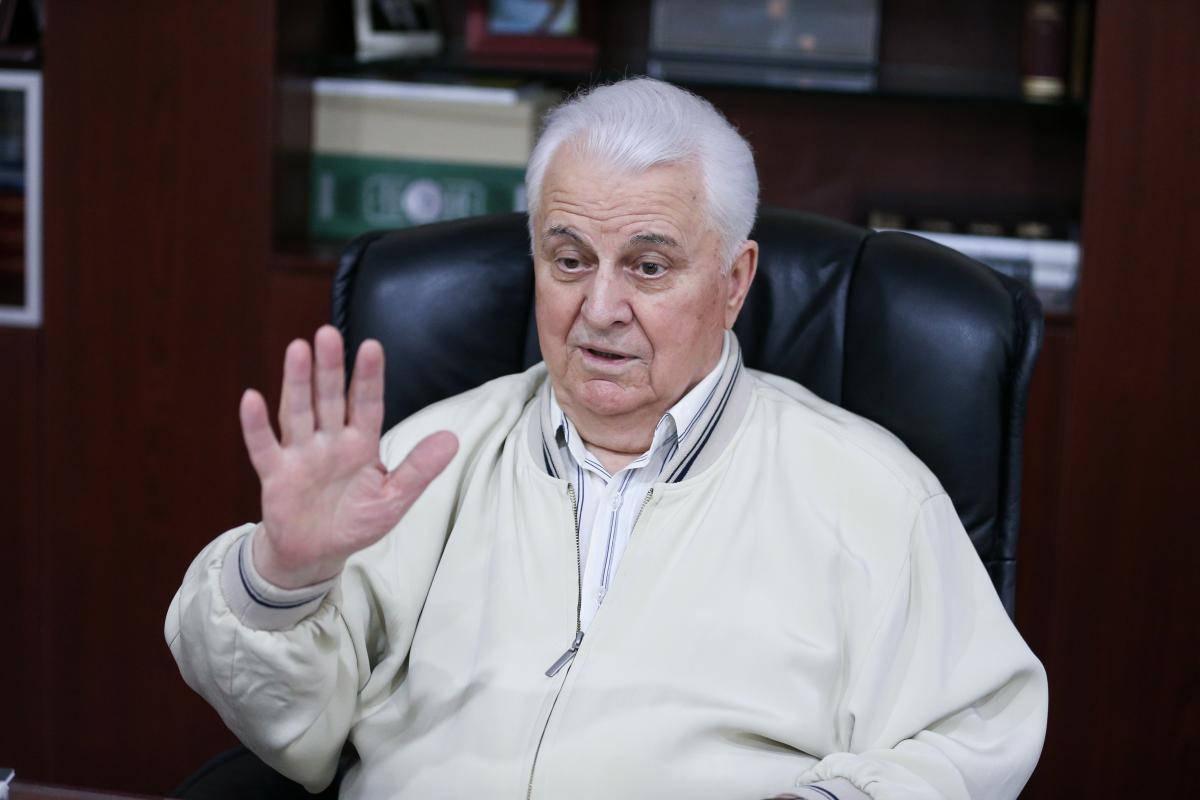 Леонид Кравчук считает, что Украина должна ежедневно формулировать предложения по новым подходам к урегулированию ситуации в Донбассе