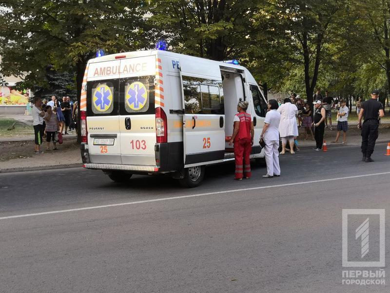 В Кривом Роге легковушка сбила 5-летнюю девочку и уехала, пострадавшая умерла