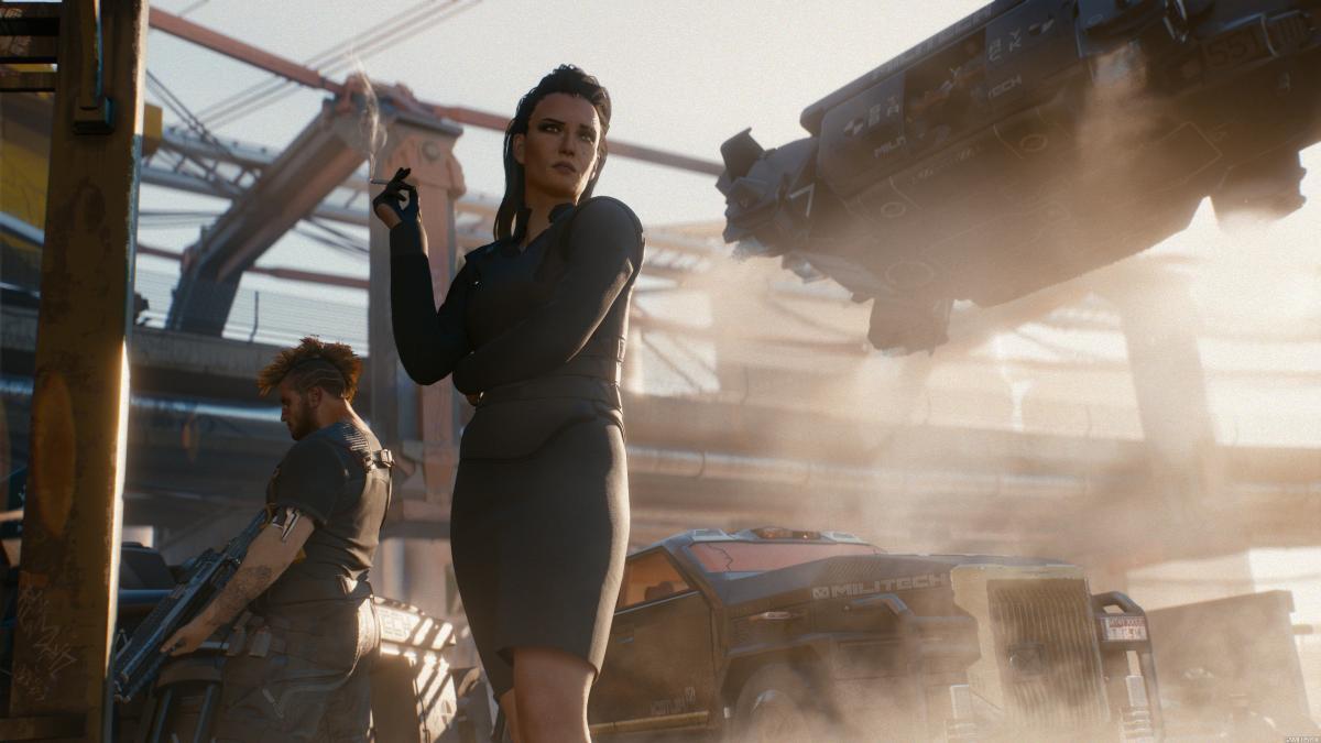 Скриншоты и арты Cyberpunk 2077