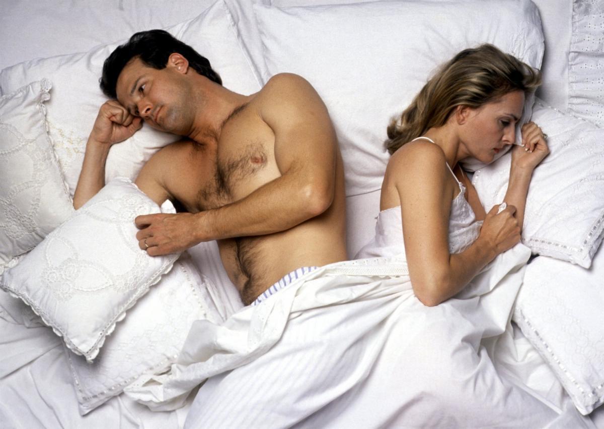 Проблемы в сексуальной жизни — Женщин может