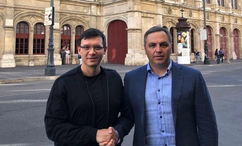 Андрей Портнов и Евгений Мураев