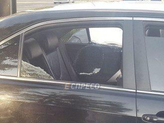 Водитель машины не пострадала
