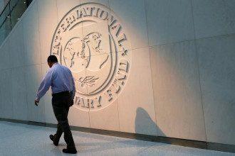 Эмблема МВФ / Reuters
