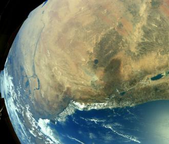 Американский астронавт поделился снимком Черного моря из космоса