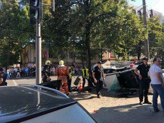 Пользователи считают полицию виноватой в ДТП в Сумах