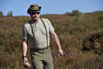 Владимир Путин в отпуске / Reuters