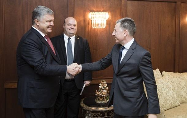 Порошенко и Волкер провели плодотворный диалог
