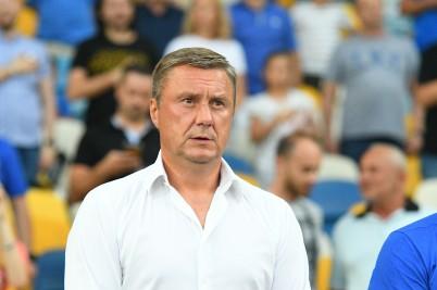 Александр Хацкевич сообщил, что вина за поражение