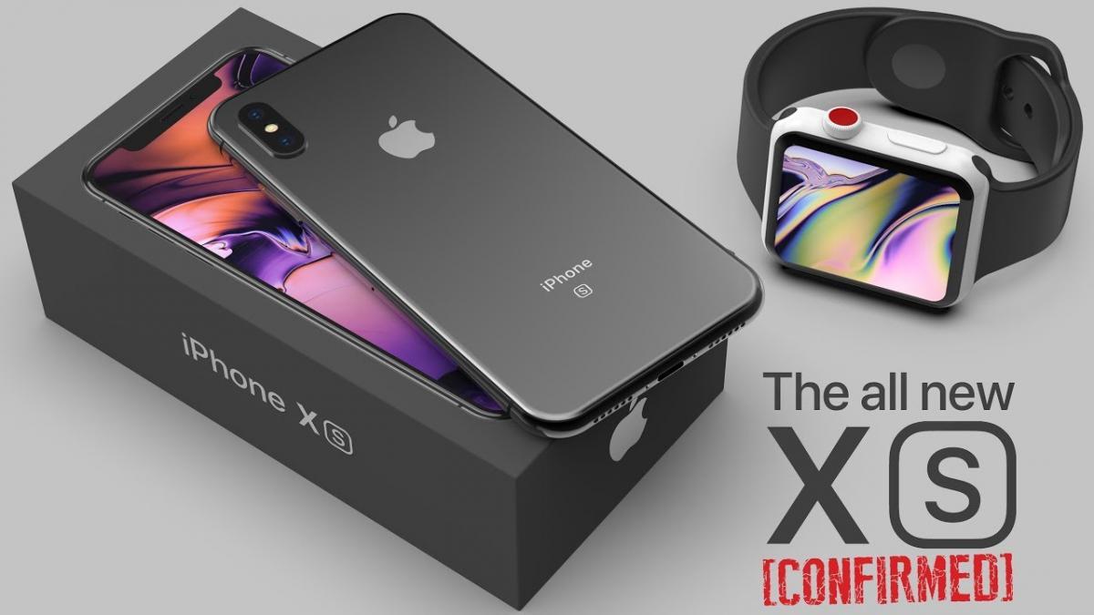 iPhone XS и Apple Watch Series 4