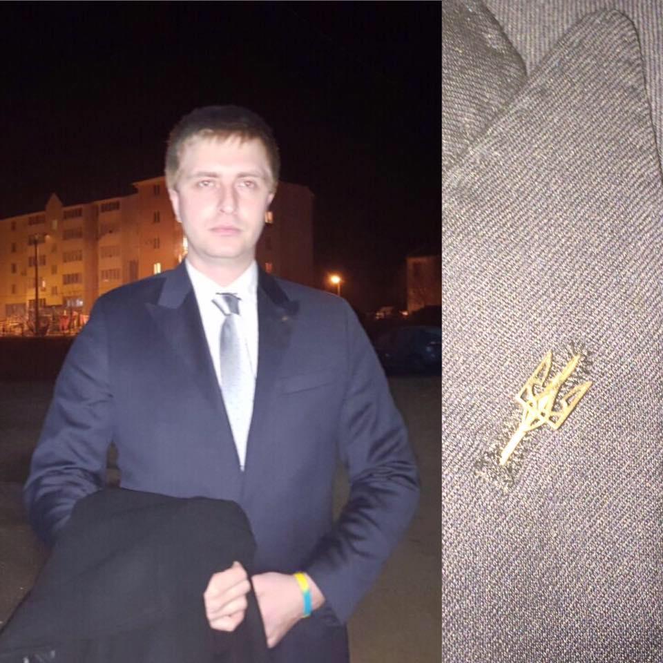 Андрей Вагапов, активист из Одессы