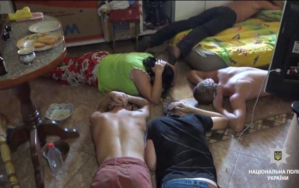 Задержанные участники ОПГ