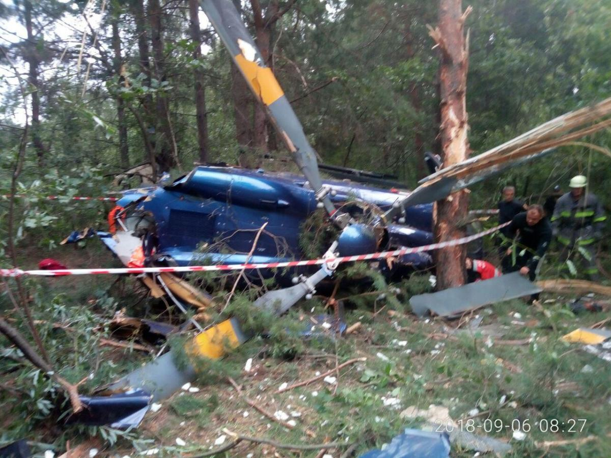 Крушение вертолета на Трухановом острове