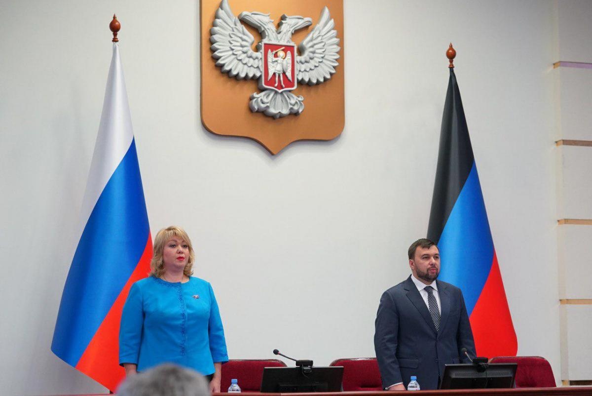 денис пушилин избран главой ДНР