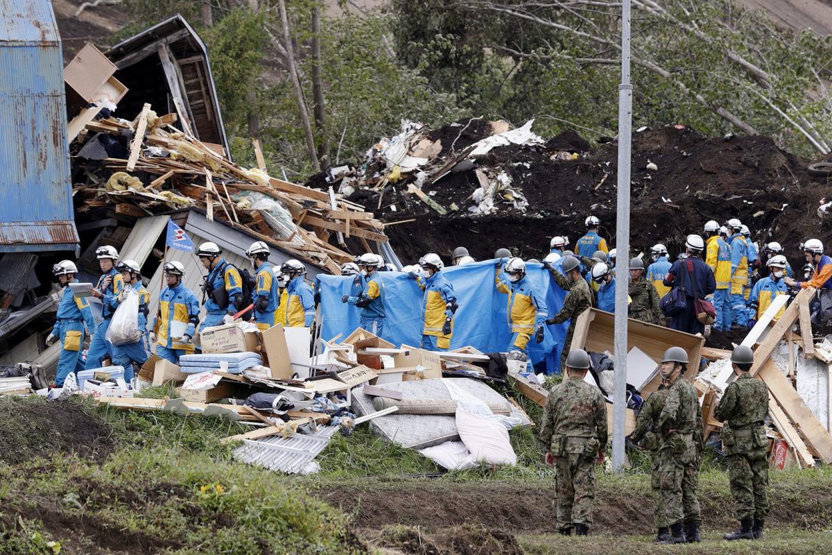 На Хоккайдо произошло мощное землетрясение, десятки жертв