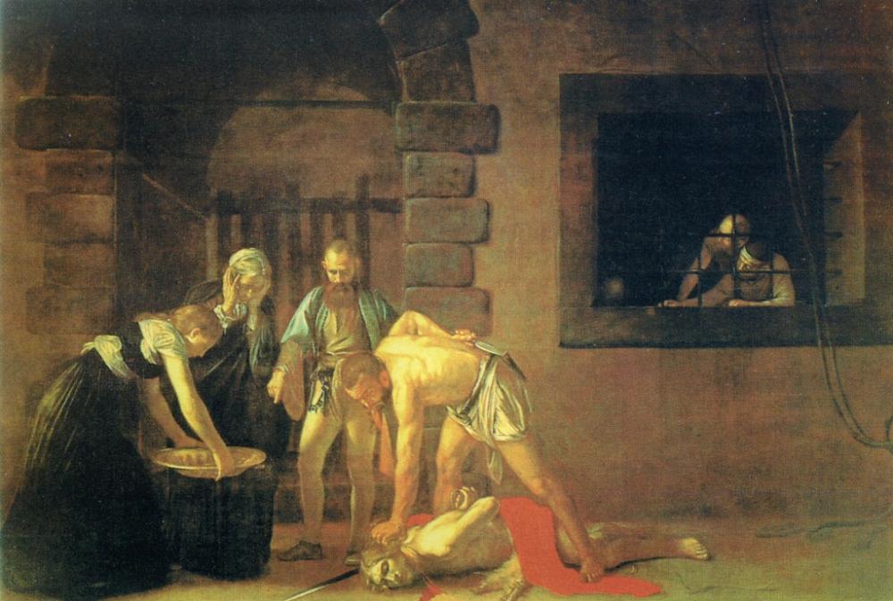 Усекновение главы Иоанна Крестителя. Караваджо