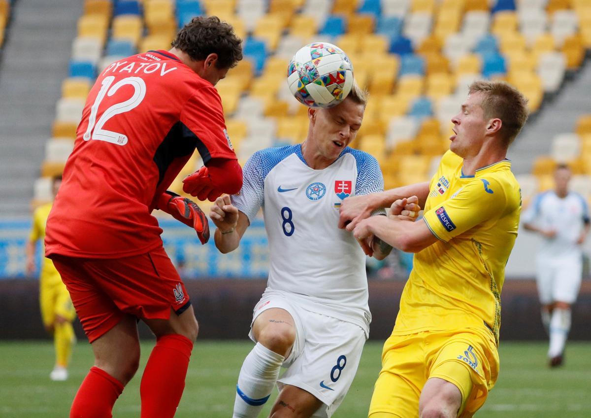 Прогноз на матч Словакия - Украина 16 ноября 2018