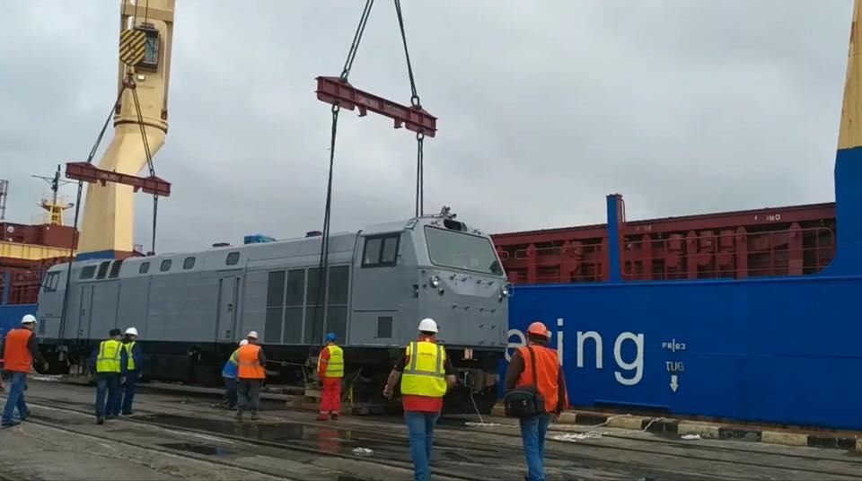 В Украину прибыл локомотив General Electric