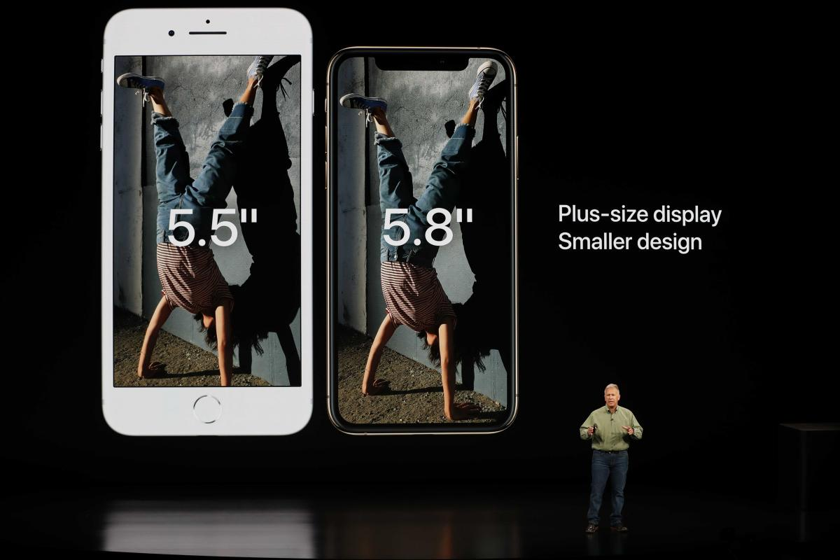 Apple презентовала iPhone XS and XS Max