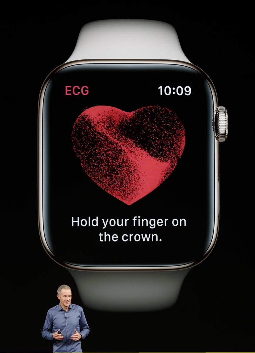 Apple презентовала новые умные часы