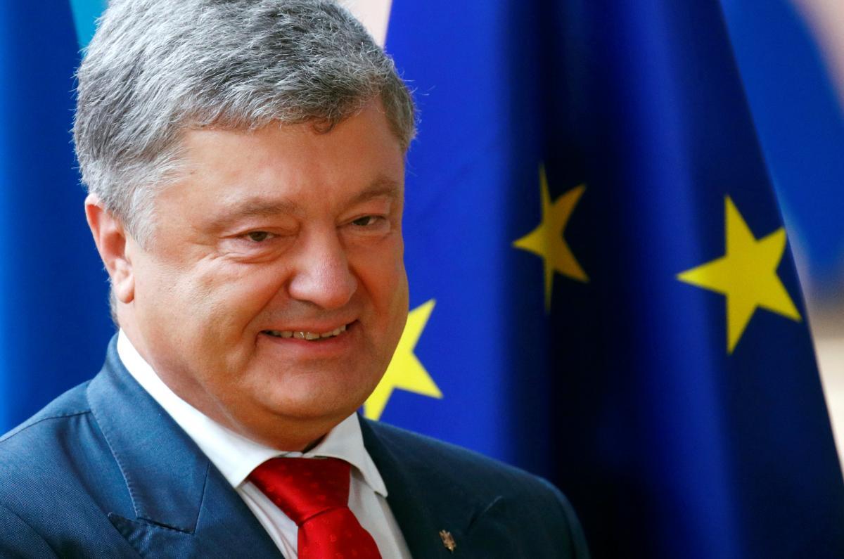 Петр Порошенко считает, что безвизовым режимом с ЕС украинцы разрушают те барьеры, которые в свое время соорудил СССР