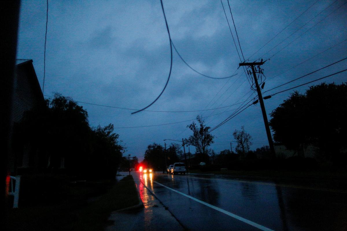 В США в результате урагана