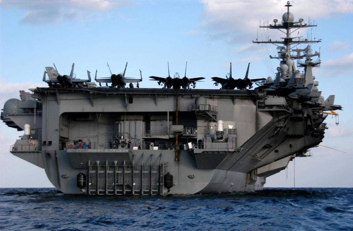 В Средиземное море вернулась ударная группа ВМС США с авианосцем Harry Truman